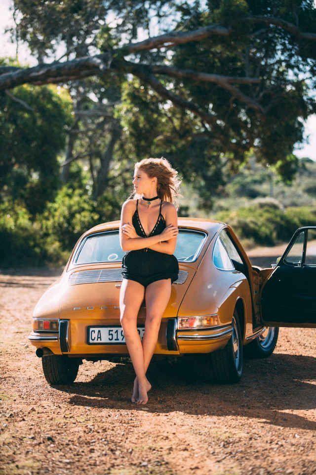 # Car and Girl Porsche – ToT # # car and girl