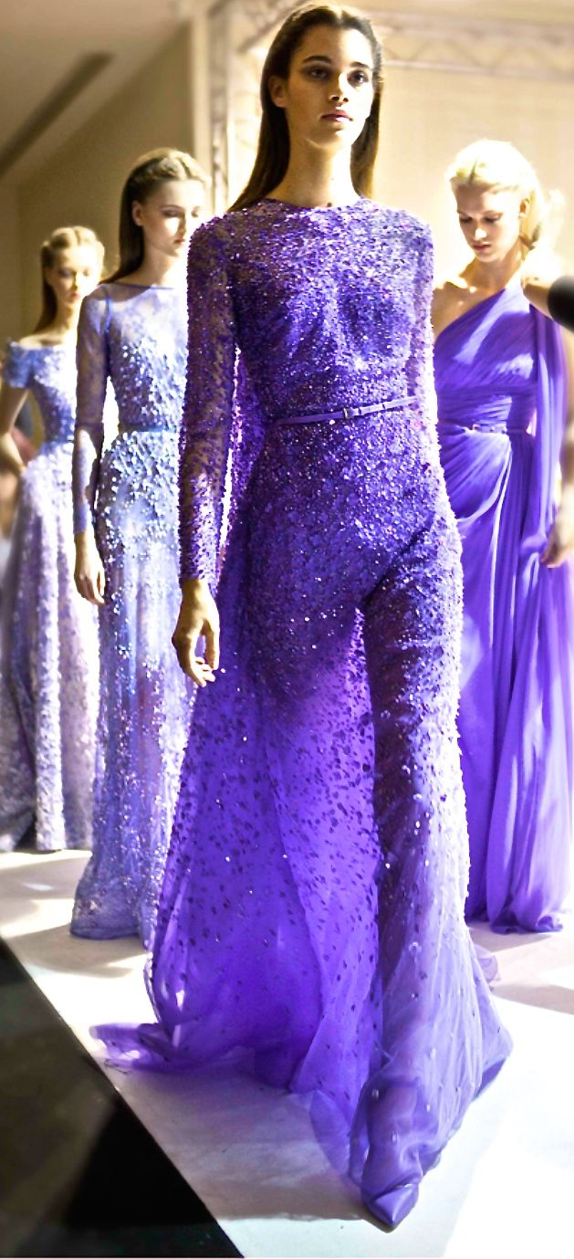 Elie Saab   The House of Beccaria~ that color!!