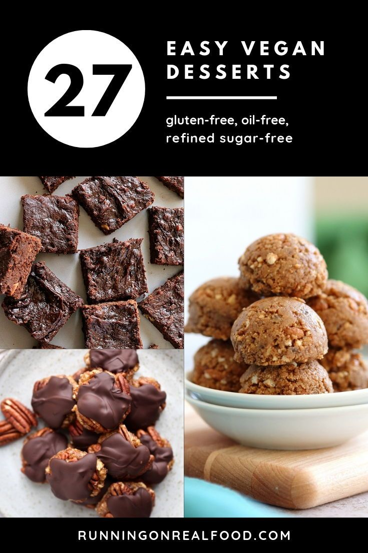 27 Easy Vegan Desserts With 6 Ingredients Or Less Healthy