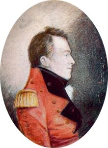 Together with Shawnee Chief Tecumseh, British General Sir Isaac Brock fought the Americans in what is now present-day Ontario,  in 1812.  Both Brock and Tecumseh died on the battlefield.