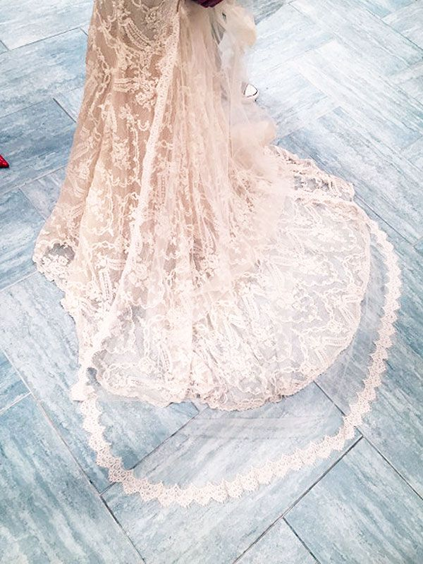 People Magazine: Nikki Reed's Wedding Dress: Inside the Fitting with Claire Pettibone (Exclusive Photos!)