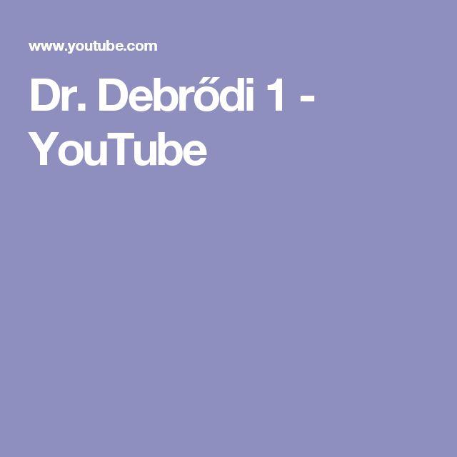 Dr. Debrődi 1 - YouTube  Termékbemutatás 1