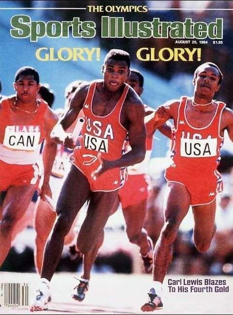 Black ThenAugust 11,1984: Carl Lewis Grabs His 4th Gold Medal. | Black Then