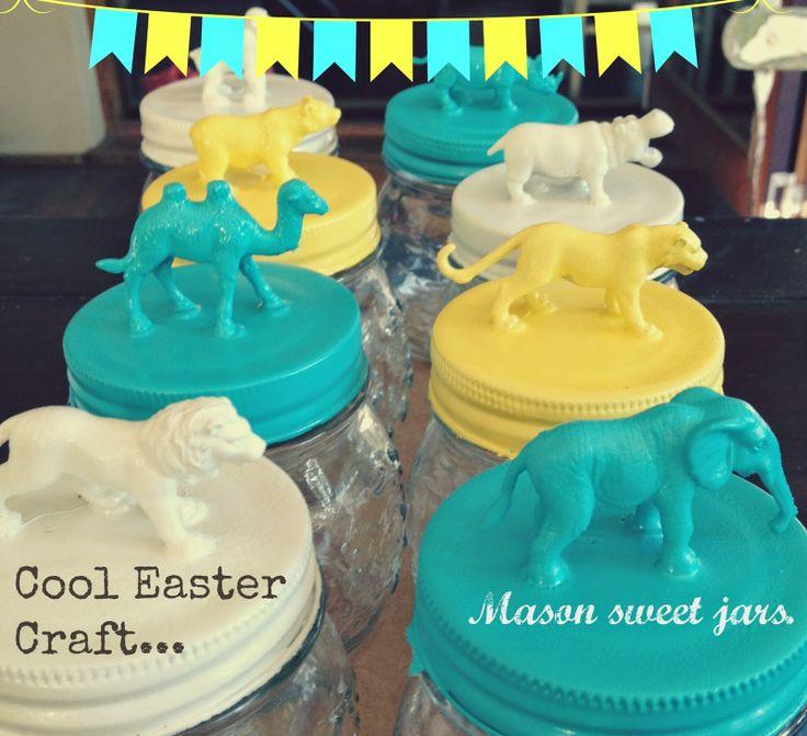 easter mason jars | Easter | Pinterest | Easter, Easter ...