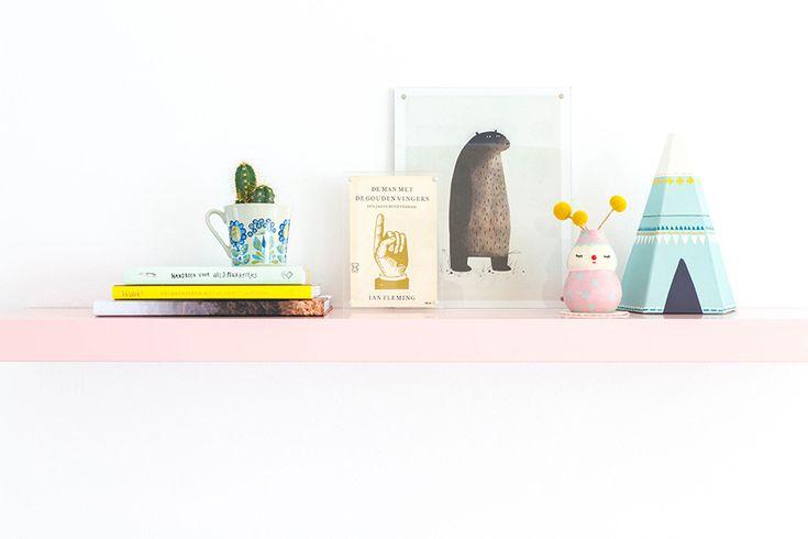 Styling met vintage boeken en -covers - Oh Marie!