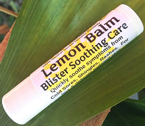 """LEMON BALM Blister Soothing Care STICK! Quickly soothe Cold Sores, Shingles, Chicken Pox, Rashes, Herpes, Molluscum, Bug Bites. Suppress future outbreaks. 100% Natural. """"Goodbye, itchy red bumps!""""  Quickly soothe Cold Sores, Shingles, Chicken Pox, Rashes, Bug Bites, Skin Wounds. Regular use will lessen outbreak frequency. NOTE: This is the SAME healing herbal blend in our popular Salve, but now in a convenient stick with beeswax added!  """"Goodbye, itchy red bumps!"""" Lemon Balm is the mos..."""