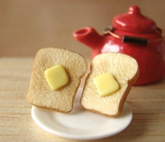 Mini tea and toast! By PetitPlat