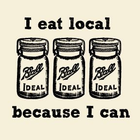 Punny!Canning, Summer Parties, Eating Local, Farmers Marketing, Mason Jars, Food Preserves, Coconut Chicken, Food Swap, Backyards Gardens