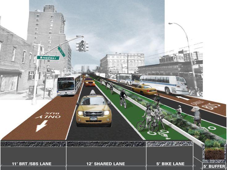 21st Avenue Corridor. Image: WXY Architecture + Urban Design.