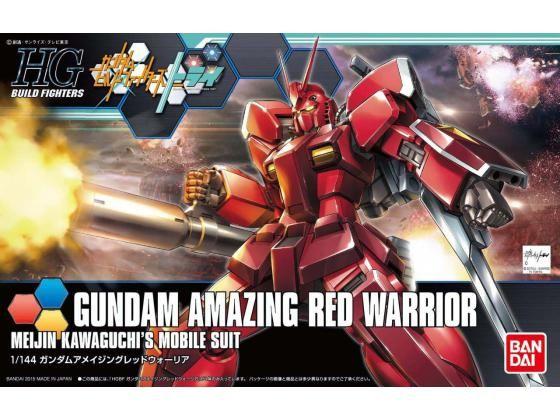 Hgbf Gundam Amazing Red Warrior 1/144