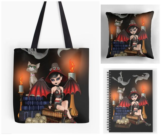 With Love for Books: With Love for Horror Books: Demon Witch Notebook, ...