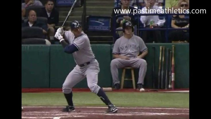 Alex Rodriquez Hitting Slow Motion Mechanics - 10000fps New York Yankees...