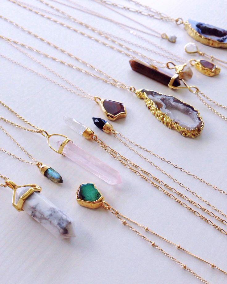 Necklaces by Shazoey Jewelry