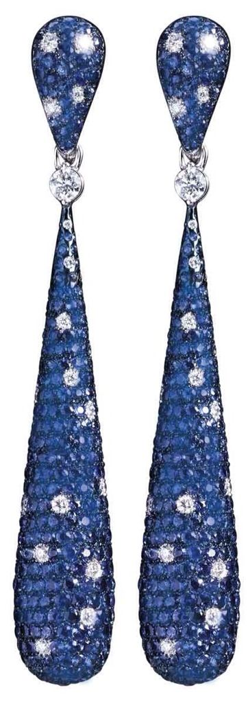 {Daily Jewel} Sapphire and Diamond Earrings by Crivelli - Haute Tramp