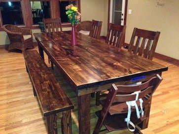 rustic walnut furniture - Google Search dark walnut stain