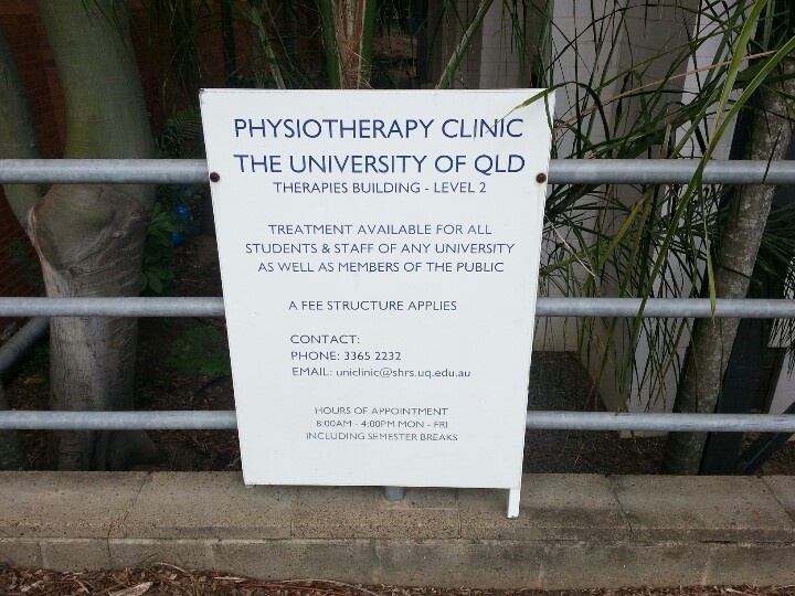 Physiotherapy clinic!