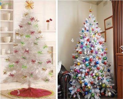 M s de 1000 ideas sobre rboles de navidad blancos en - Decorar arbol de navidad blanco ...