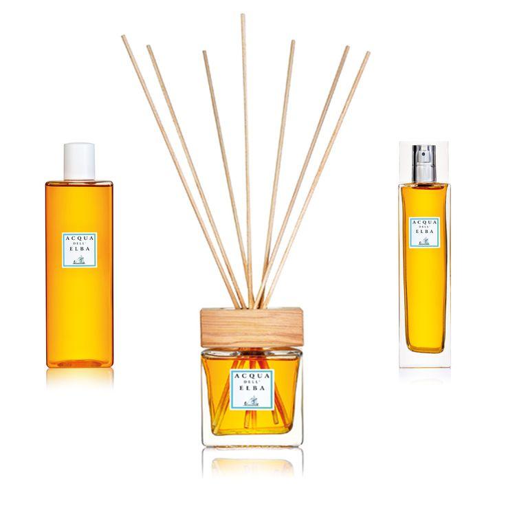 Mandarin Scented Home Fragrance from Acqua dell'Elba.  Buy online at www.italianluxurygroup.com.au/  #ItalianLuxury #Italy #Luxury #Home #Decor #Fragrance #Lifestyle #Elba #AcquadellElba