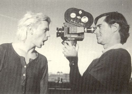 River Phoenix and Gus Van Sant (My Own Private Idaho, 1991)