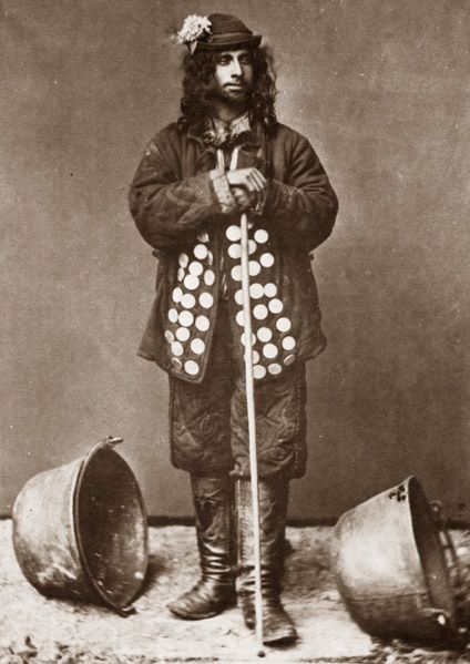 Kalderari Romani man. 1865. A photo from J.Ficowsky's book ...