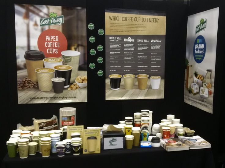 The #CastAway booth at the #CafeBiz Expo 2016 in Adelaide.