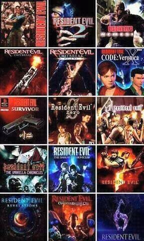 So I've just downloaded a SuperBundle Deal through Playstation Store. Resident Evil 1 Directors Cut Res Evil 2, 3 Nemesis, 4, 5 & 6. Plus Darkside Chronicles, Umbrella Chronicles and Operation Racoon. All for £15.99 Plus I got deals on Revelations 1 & 2. Also deal on Resident Evil Chronicles Collection HD which included Resident Evil HD & Res Evil Ø. Gonna be playing Survival Horror for the next year.