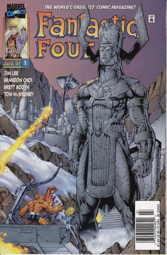 Fantastic Four 9 July Issue Marvel Comics Grade by ViewObscura