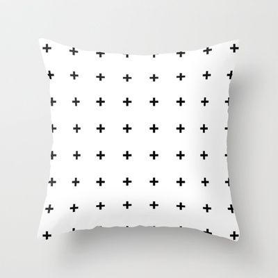 I've been seeing a lot of my pillow floating around Pinterest with out any links to me. I am also seeing it placed in random shops. This makes me super sad because all of this work I've done is mine and no one else's. I hope that people can atleast try to be honest and link images back to where they came from... Plus Throw Pillow By Pencil Me In