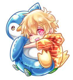 Free! ~~ Cuddling chibi series :: Nagisa