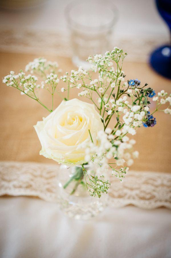 Small Kid Friendly Quirky Stylish Wedding Flowers Bottles http://www.mariannechua.com/