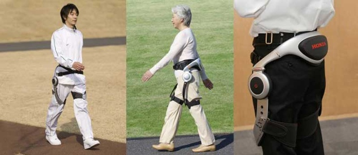 Honda created a new walking assist device to help with rehabilitation training and physical therapy in Japanese hospitals.