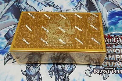 Yu-Gi-Oh Sealed Decks and Kits 183452: Yugioh Yugis Legendary Decks 2015 1St Edition Box Sealed -> BUY IT NOW ONLY: $54.99 on eBay!