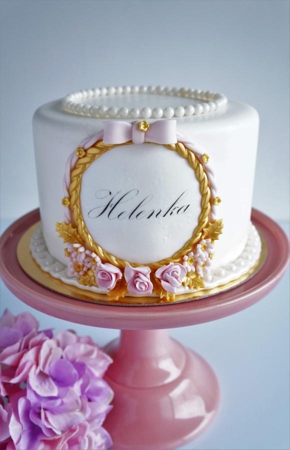cake for Helenka  by Arletka