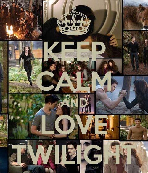 Keep calm and... - twilight-series Fan Art