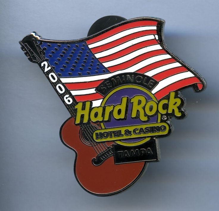 Tampa - Hard Rock Cafe Pin