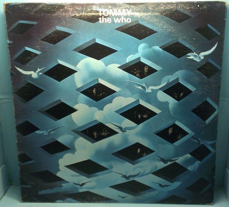 The Who - Tommy MCA2-10005 Gatefold 2 LP MCA Records 2nd Pressing EX/VG 33RPM $10.00 #RockOpera http://stores.ebay.com/cjvintagevinyl