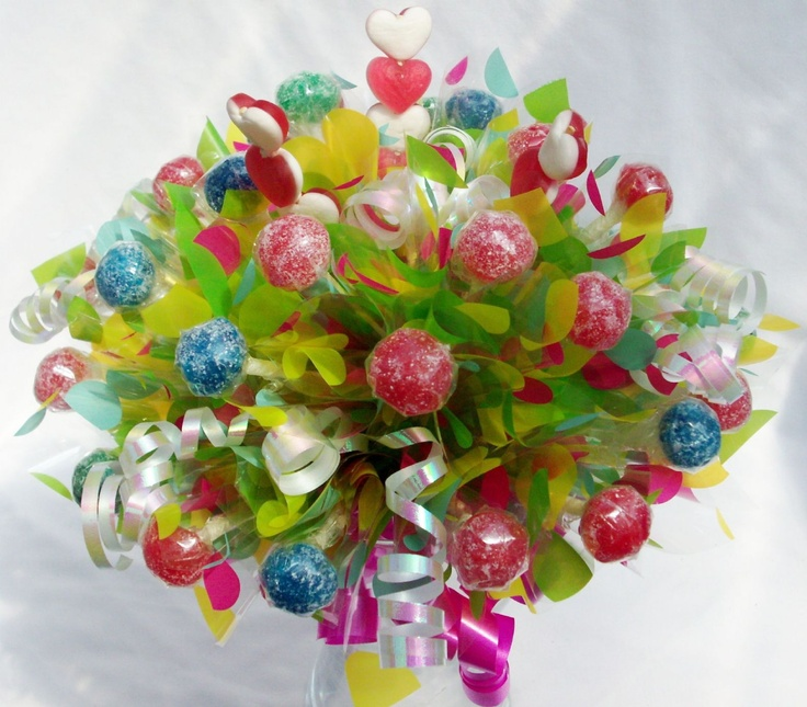 17 Best Images About Candy Bouquet On Pinterest