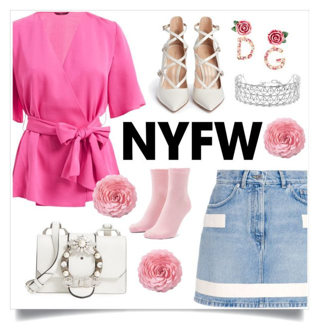 """""""after valentine runaway"""" by indahnovianaa on Polyvore featuring WtR, Givenchy, Miu Miu, Forever 21, Gianvito Rossi, Co.Ro, Saro, Dolce&Gabbana, contestentry and NYFWHotPink"""