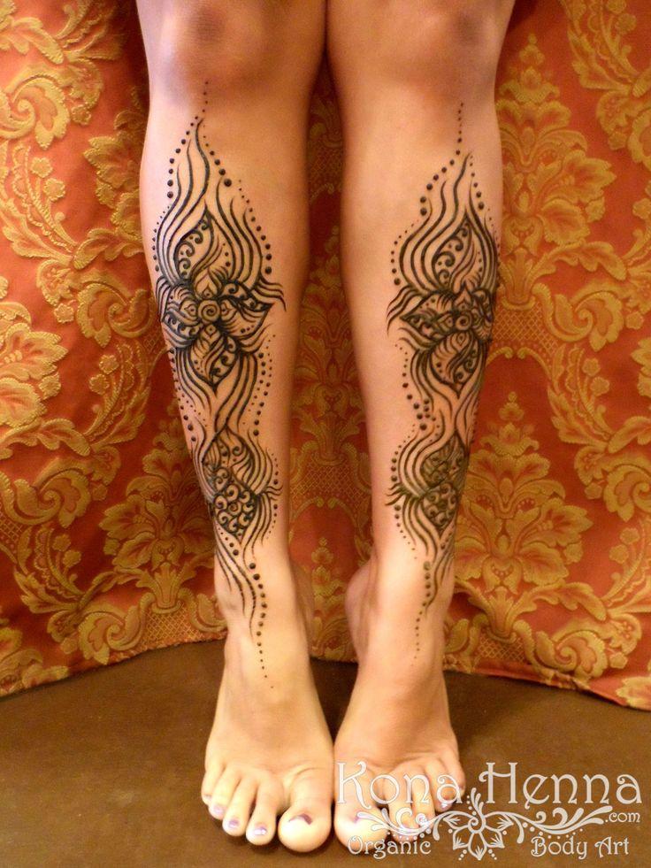 kona henna studio legs gallery tatted up pinterest tattoo ideen und ideen. Black Bedroom Furniture Sets. Home Design Ideas
