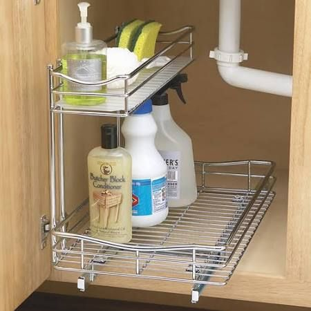 Lynk Roll Out Under Cabinet Double Drawers