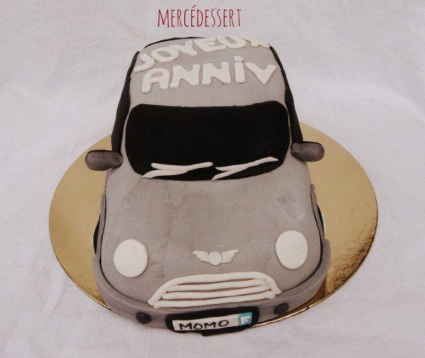 Gâteau mini cooper
