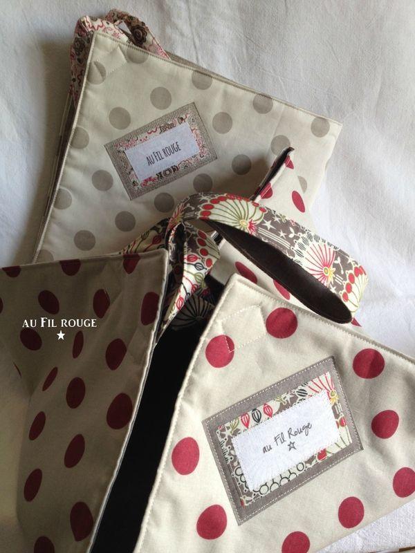 Double sac à tarte | au Fil rouge | Bloglovin'
