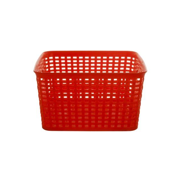 "From ""VIVA"" - SPRING basket (square) - red"