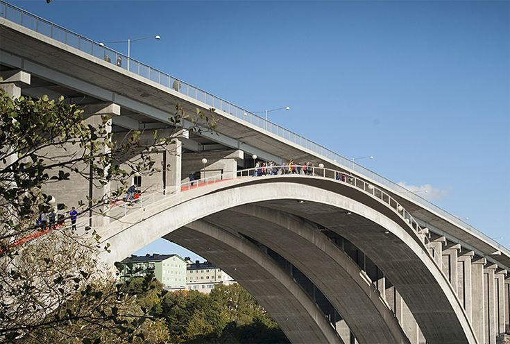 visiondivision activates tranebergsbron bridge in stockholm