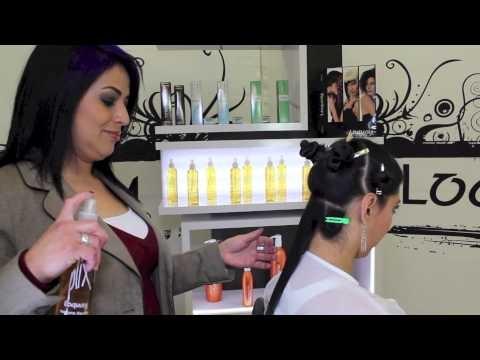 En este tutorial te mostramos cómo puedes lograr distintos peinados usando las tenazas y un fijador increíble que te permite hacer y deshacer los recogidos sin tener que lavar el cabello. Plix de Loquay.