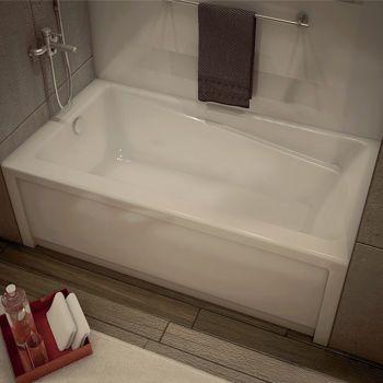 Maax New Town Soaker Tub Left-hand Drain