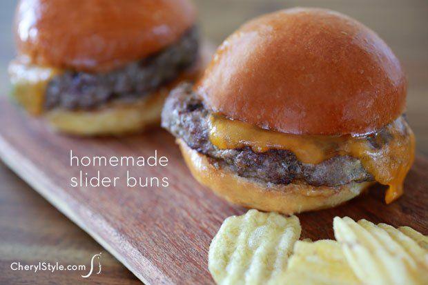 Homemade Hamburger Buns | Recipe | Simple, Homemade and Buns