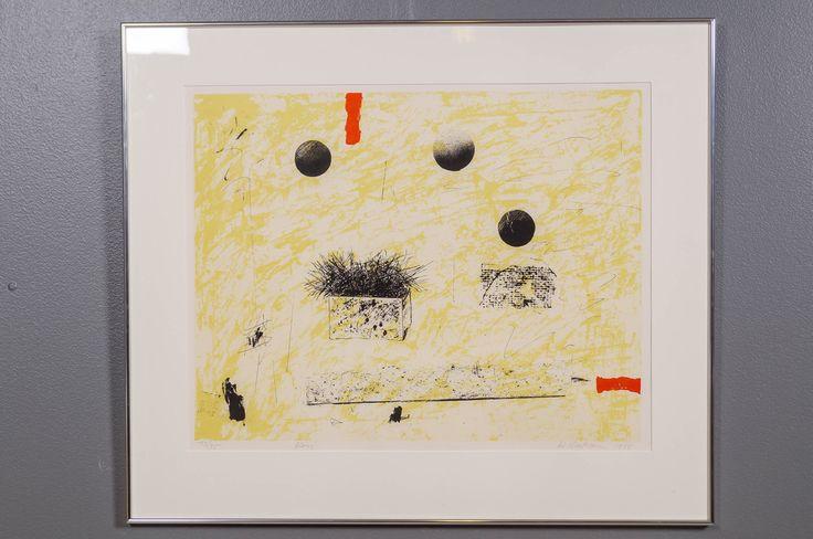 Reino Hietanen; Kori, 1988, litografia, 50x74 cm, edition 73/75 - Huutokauppa Helander 05/2015
