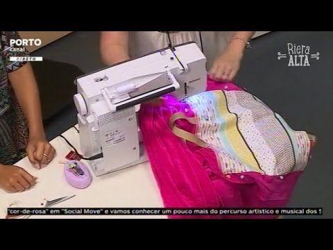 Bolsa para a Toalha de Praia - Costura com Riera Alta - YouTube