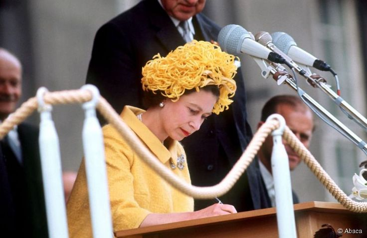 Queen Elizabeth in West Berlin, May 27, 1965